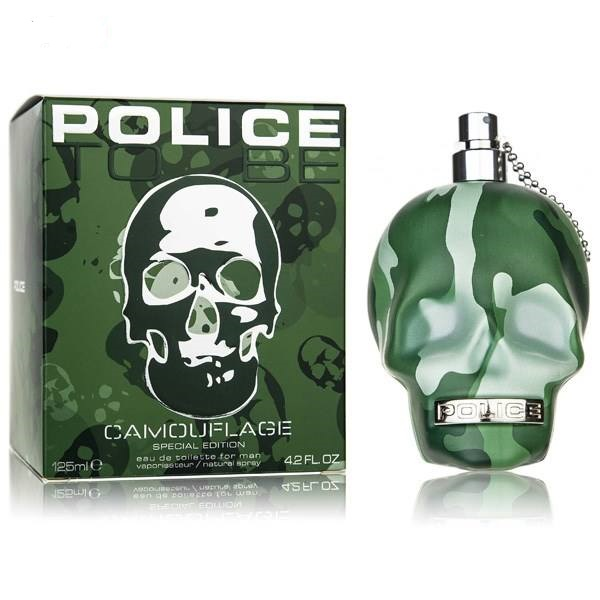 police to be camouflage edt 125ml 2