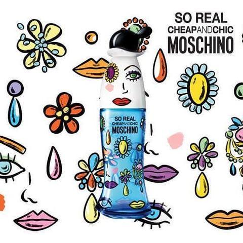 موسچینو سو ریل چیپ اند چیک زنانه moschino so real cheap chic 3