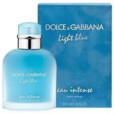 Light blue Eau Intense Pour Homme